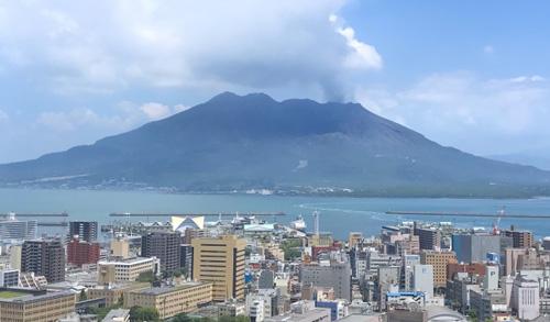 活火山桜島